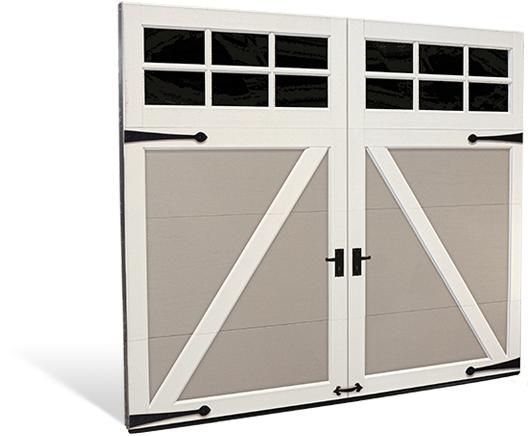 Carriage House Steel Garage Doors