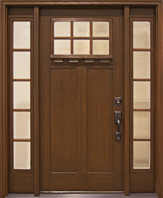 craftsman collection insulated grained fiberglass construction
