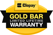 Aero Garage Door is proud to offer the Gold Bar Warranty.